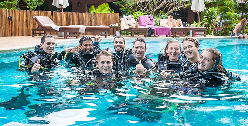 IDC Internship Packages Koh Tao Thailand Sairee Cottage Diving