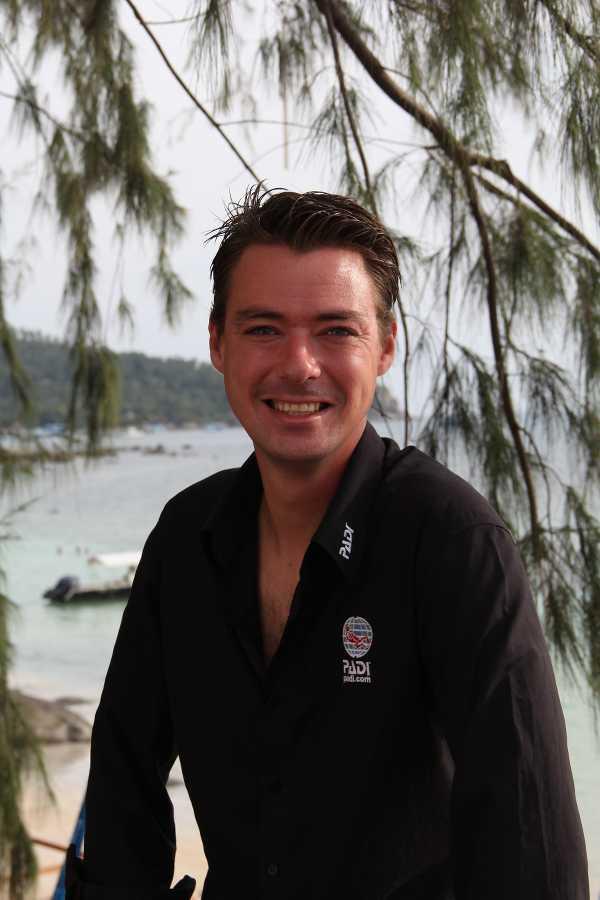 PADI Course Director Marcel van den Berg
