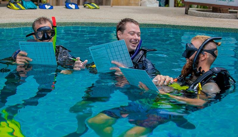 PADI IDC Staff Instructor Koh Tao Sairee Cottage Diving