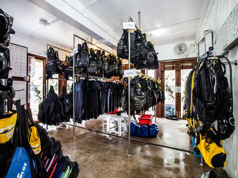 Dive Instructor in Thailand Facilities