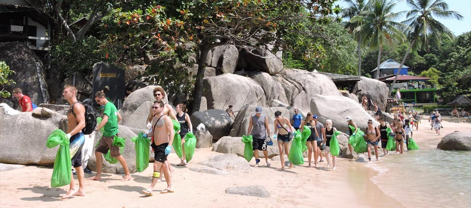 Clean Up Koh Tao Eco Day Instructor Course Conservation