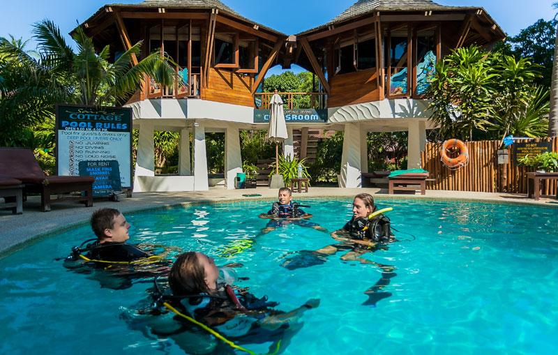 Dive Instructor Internship Teaching PADI Courses Koh Tao Thailand