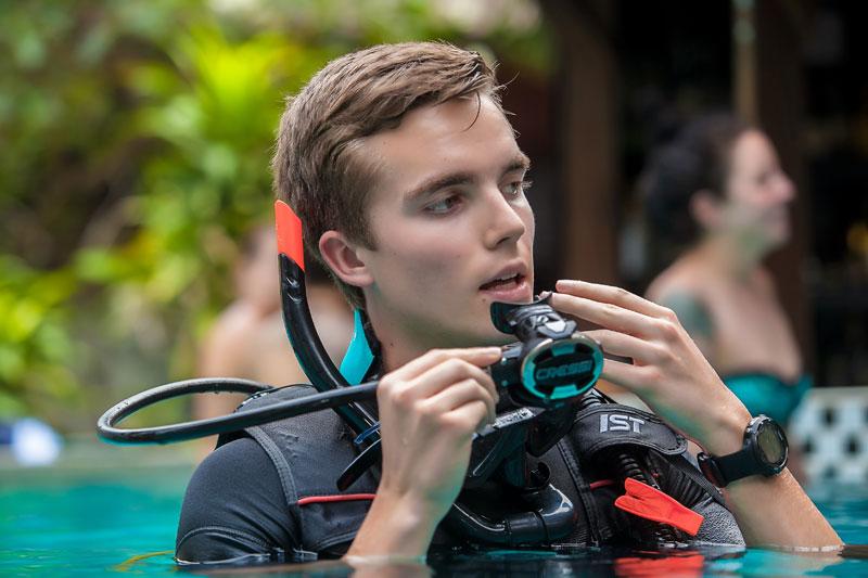 Dive Instructor Internship Thailand