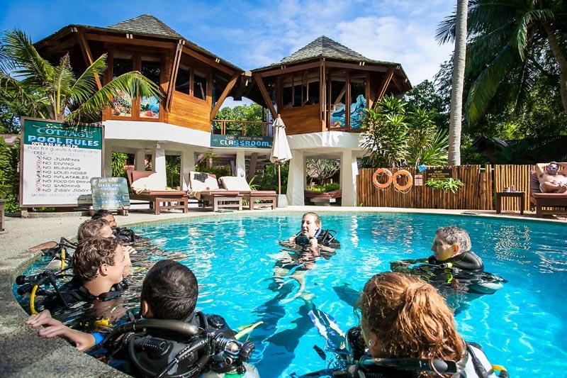 Diving Instructor Internship Thailand PADI MSDT