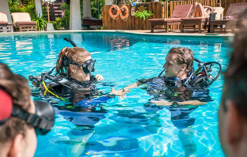 Instructor Career Package IDC Koh Tao Thailand