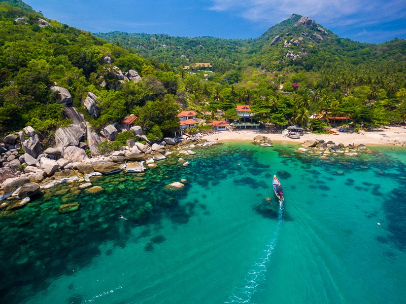 Koh Tao Thailand Diving Instructor Island