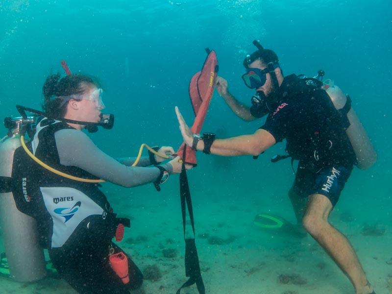 Senior Diving Instructors Teaching Internships
