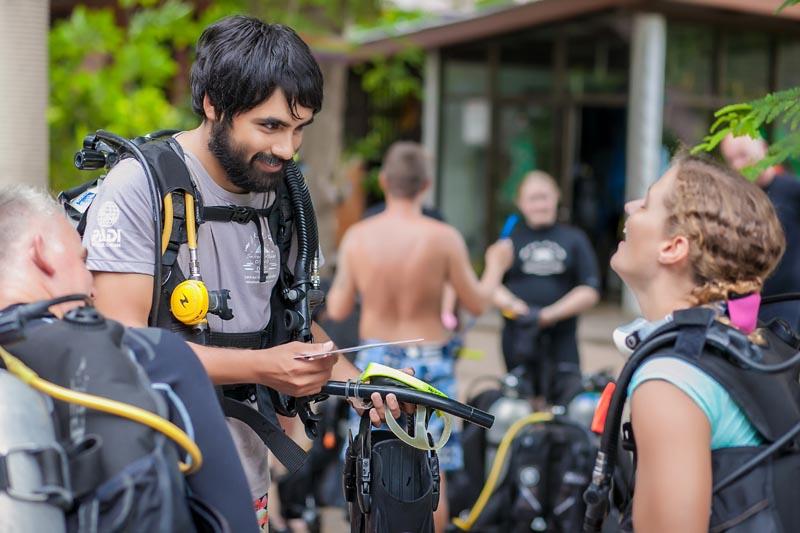 Friendly Divemaster Internship Thailand
