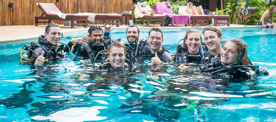 All Dive Instructor Idc Candidates Passed PADI IE Diploma Thailand