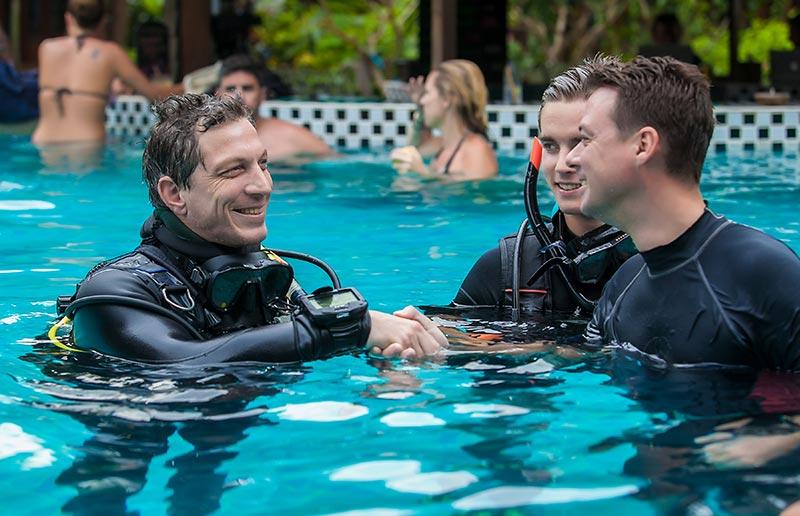 Best PADI Dive Instructor Attitude Divemaster Thailand
