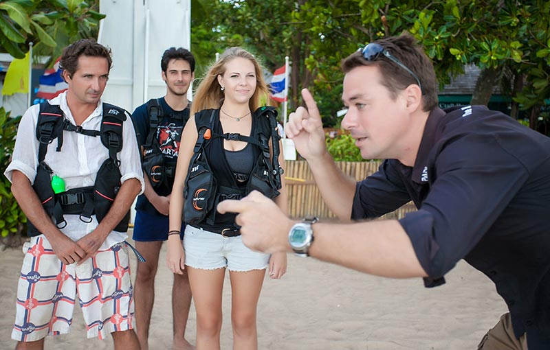 One Of The Best And Caring PADI Course Directors Koh Tao Thailand