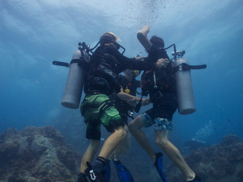 PADI MSDT Course Rescue Exercise