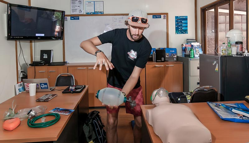 EFR Instructor Course Koh Tao Thailand