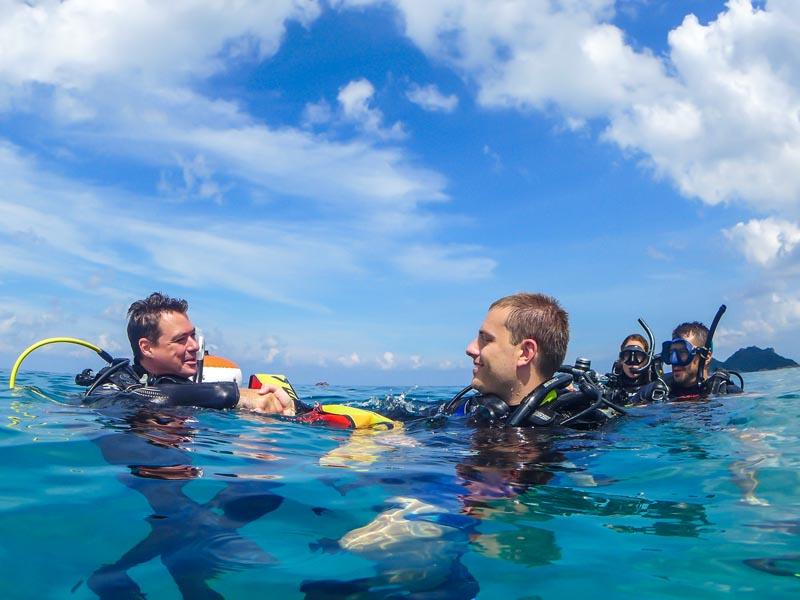 Koh Tao Dive Instructor Internship Experience