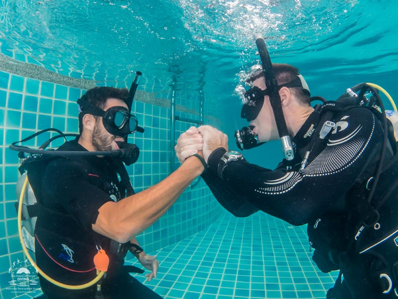 PADI Mask Removal And Replacement